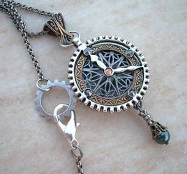 Steampunk Watch Locket 1