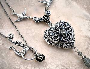 Silver Heart Locket 2