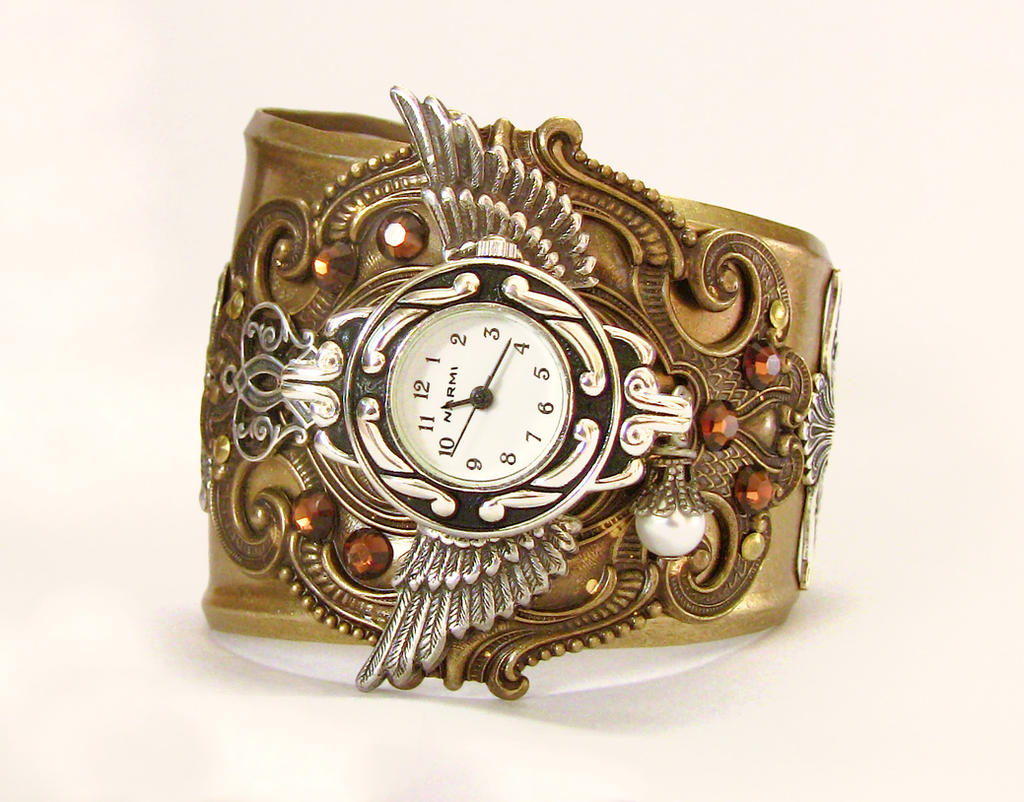 Steampunk Watch New by Aranwen