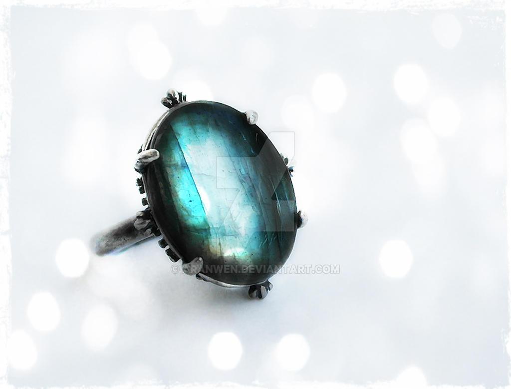 Labradorite Ring -1 by Aranwen