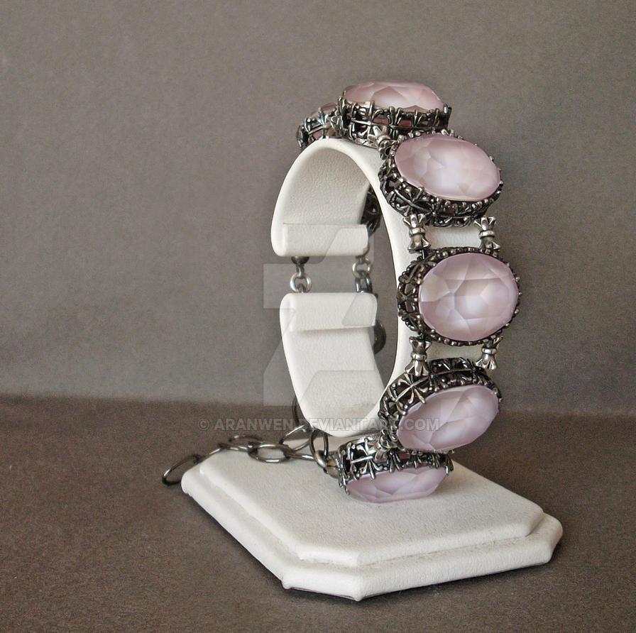 Powder Pink Bracelet by Aranwen