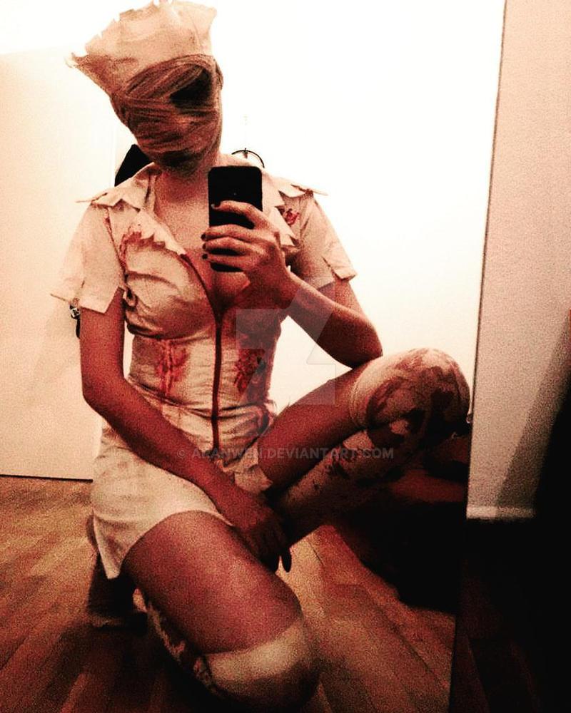 Silent Hill Nurse Costume by Aranwen