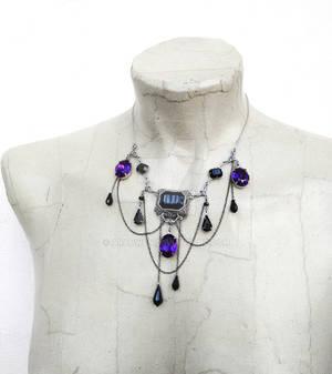 Purple Vampire Necklace