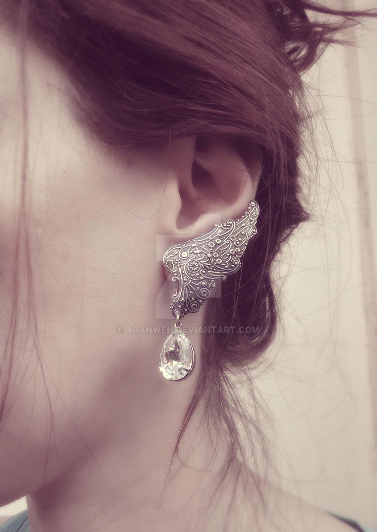 Fairy Wing Earrings by Aranwen