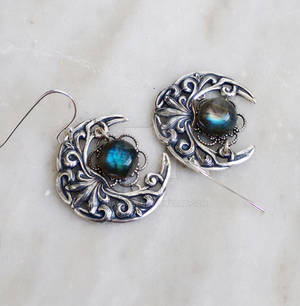 Celestial Labradorite Earrings