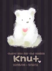 RIP Knut by hyamei