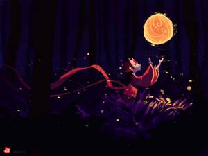 among fireflies