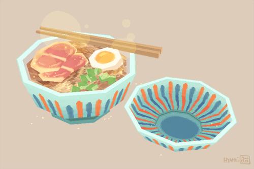 Ghibli foods - Ramen by hyamei