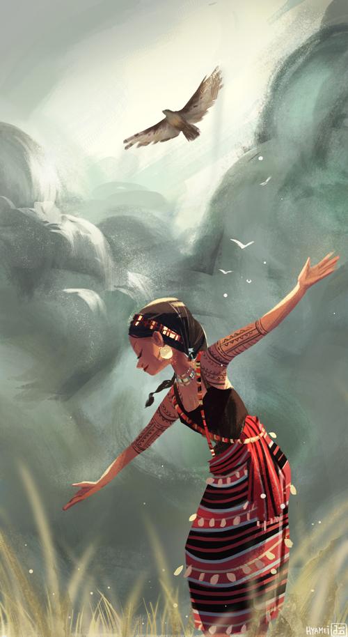 Akin to an eagle