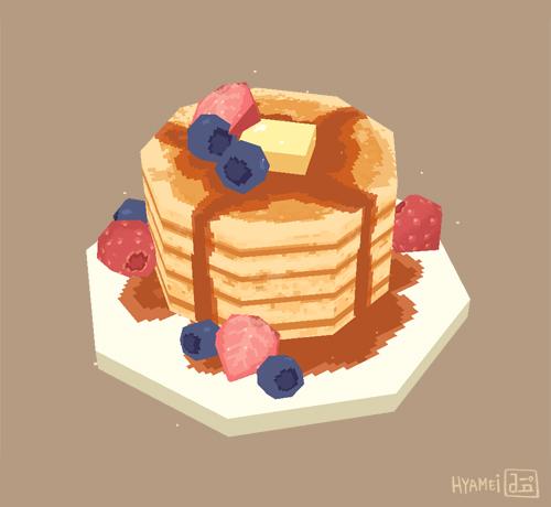 pancakes by hyamei