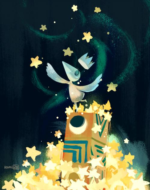 Sea of Stars by hyamei
