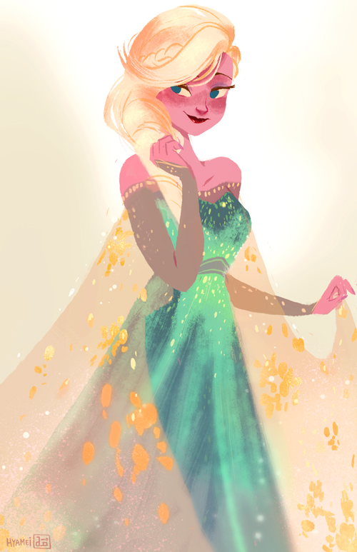 Elsa by hyamei