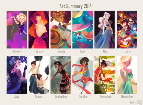 Art summary: 2014