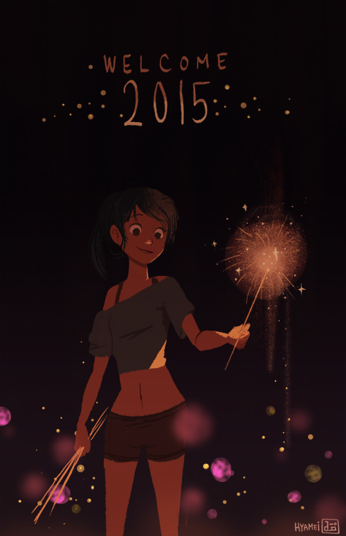 Welcome 2015 by hyamei