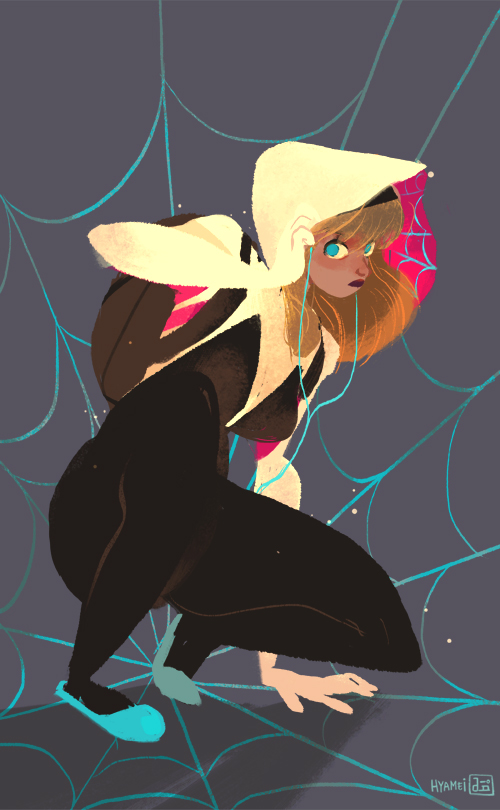 Spider Gwen by hyamei