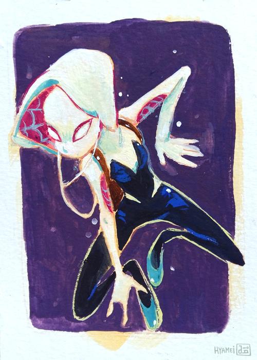 Spider-Gwen by hyamei