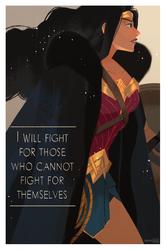 Wonder Woman by hyamei