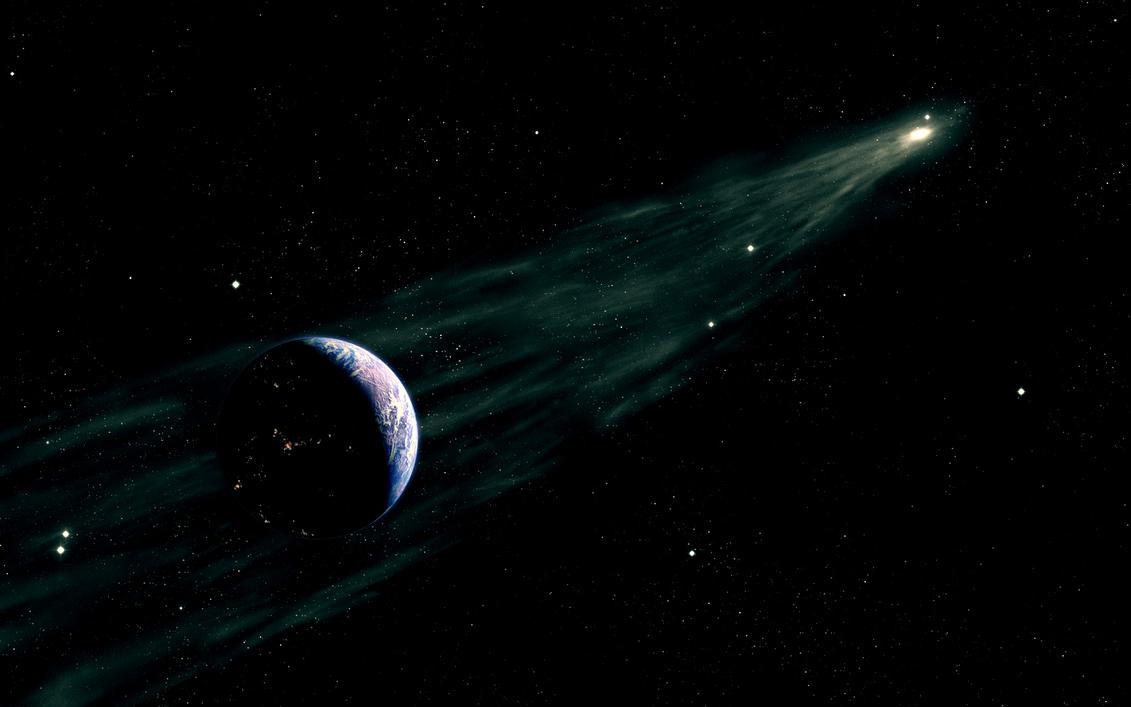 Comet by bloknayrb