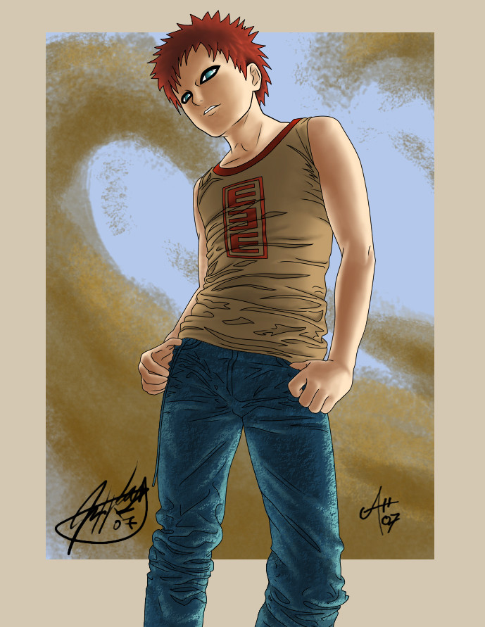Gaara by Mercurio2539