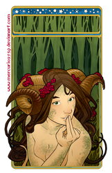 Escondida en el bosque by Mercurio2539