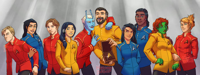 ST Discovery OC crew