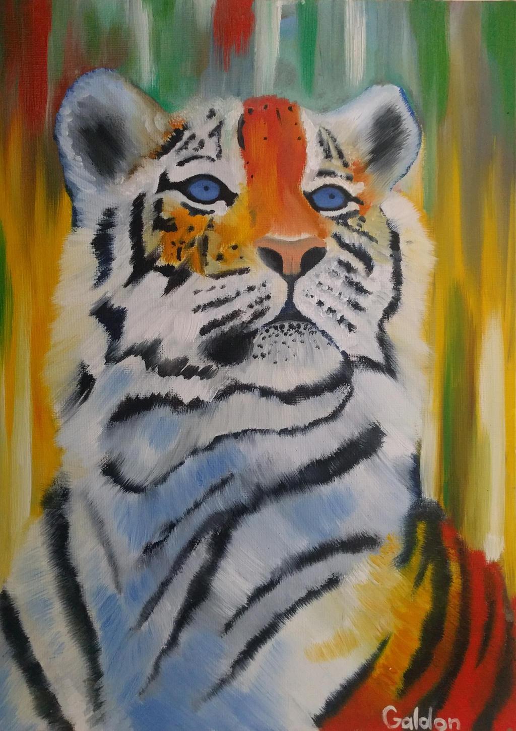Tiger by EternityArtist
