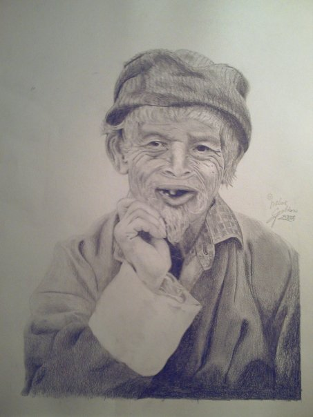 Old man study by EternityArtist