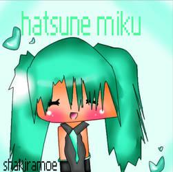 hatsune miku by shakiramoe