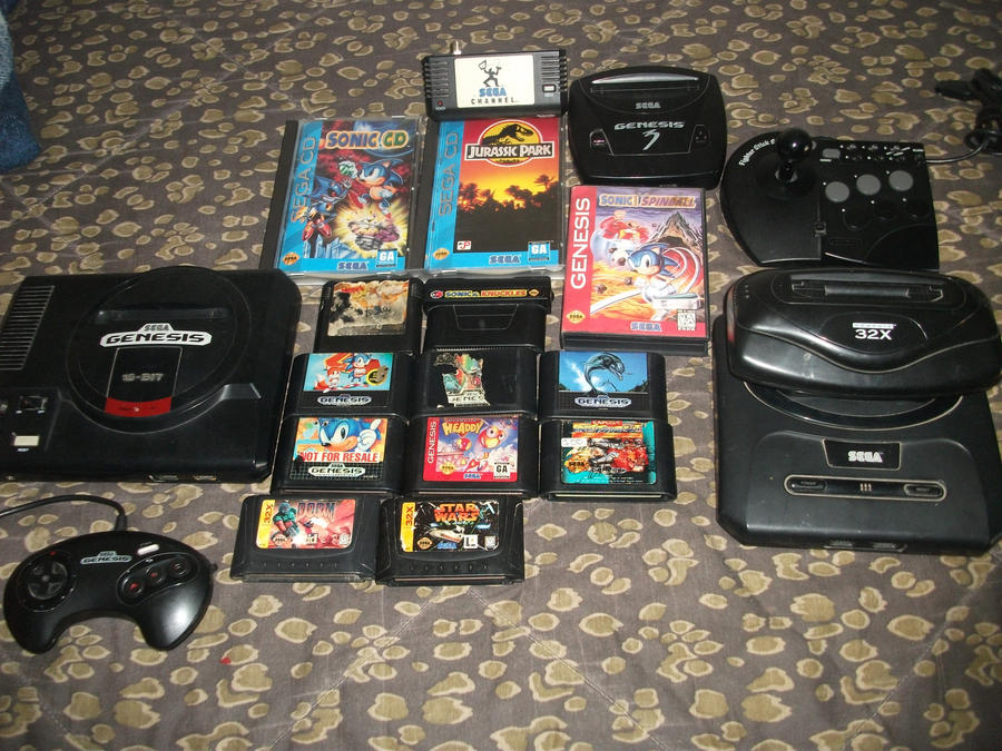 My Sega Genesis Cd 32x Collection 290807866