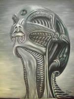 Bio-Mech-Head / 2012 by JPS-Jitka
