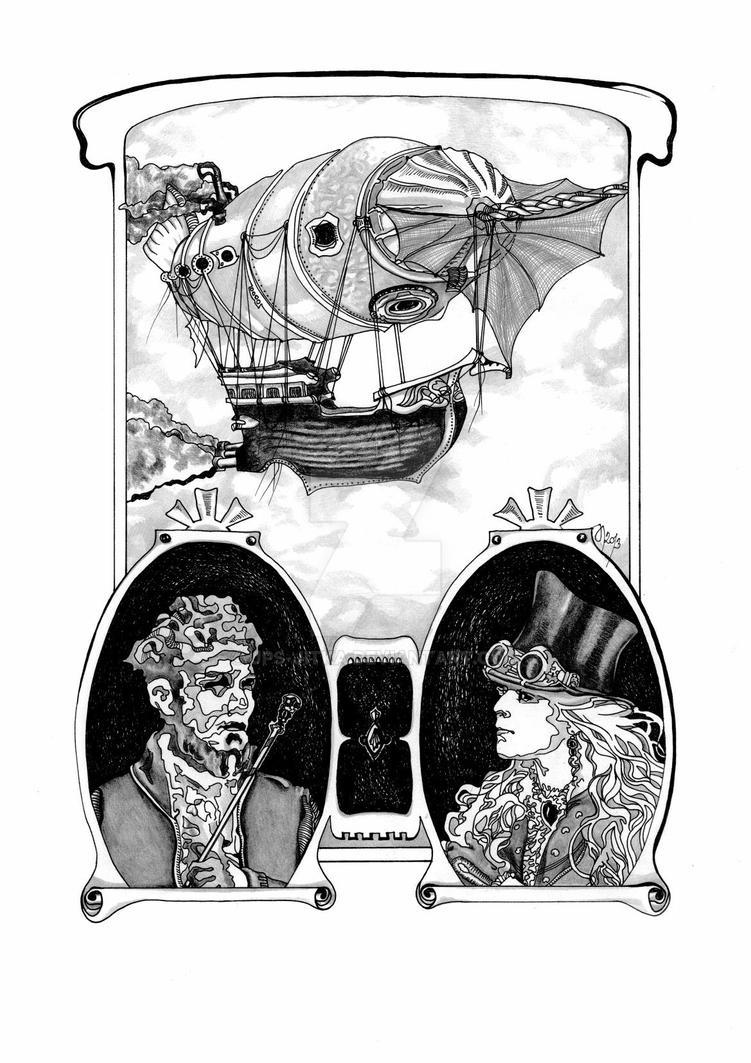 2013 / Airship of Spirits by JPS-Jitka