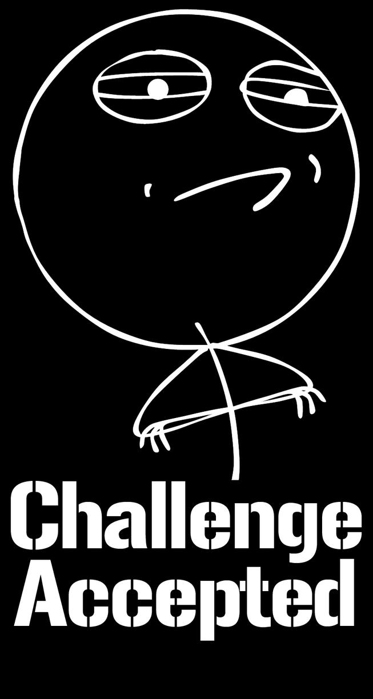Challenge Accepted Png | www.pixshark.com - Images ...