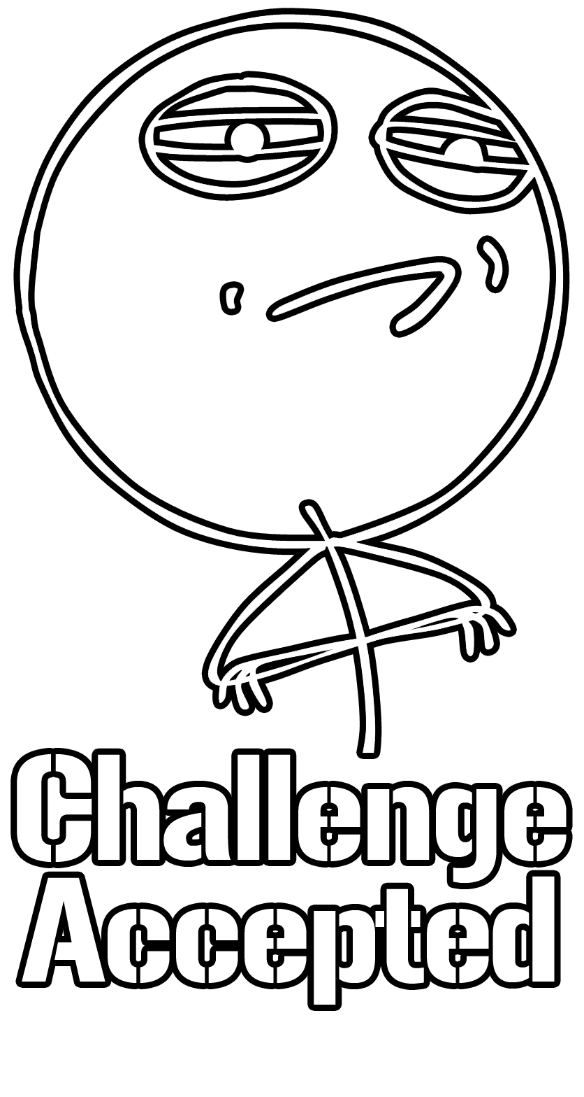 meme faces challenge accepted - photo #26