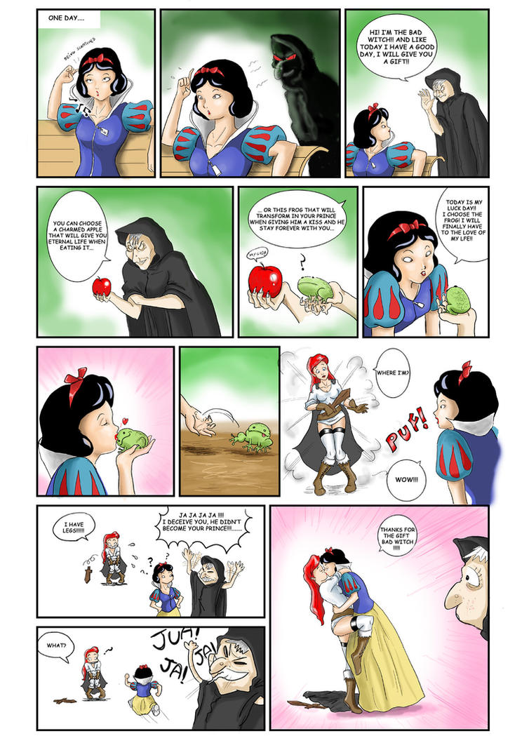 Snow White - Mini Manga Yuri
