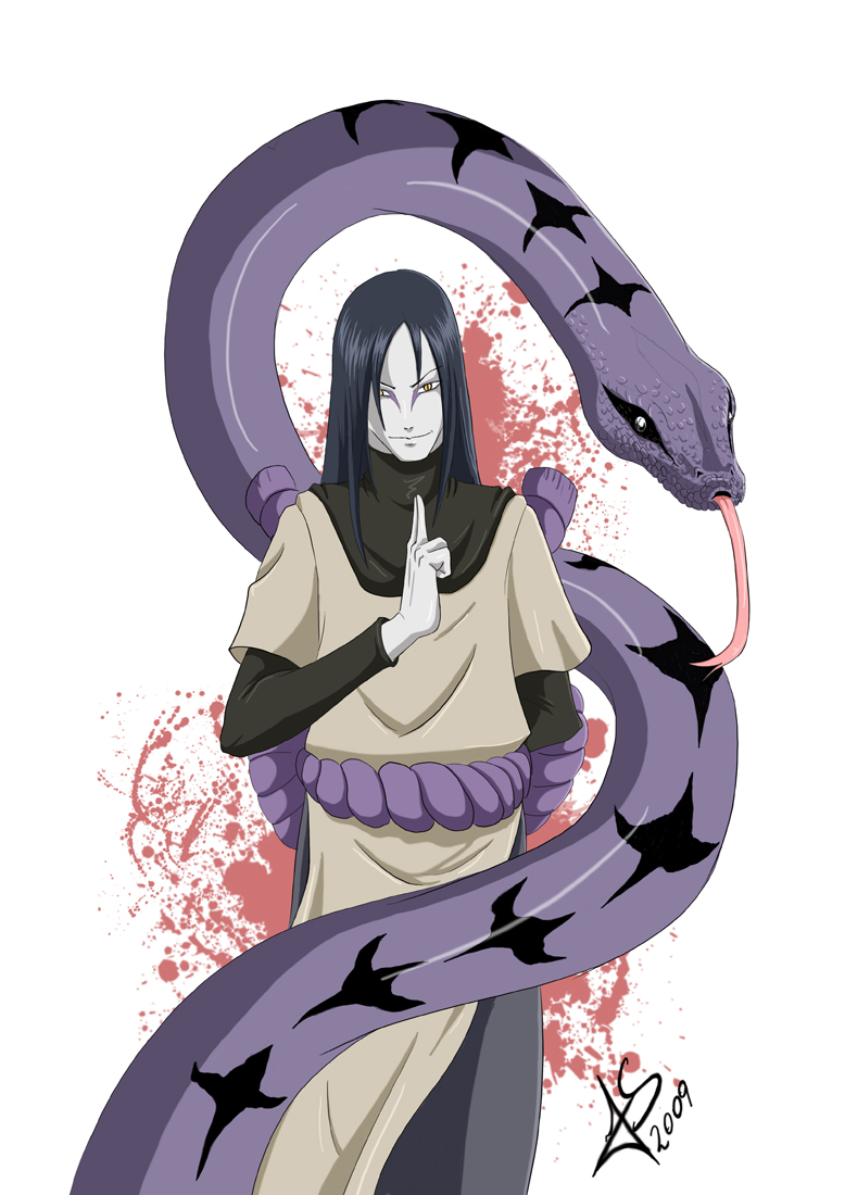 1000+ images about -OROCHIMARU (SNAKE)- on Pinterest