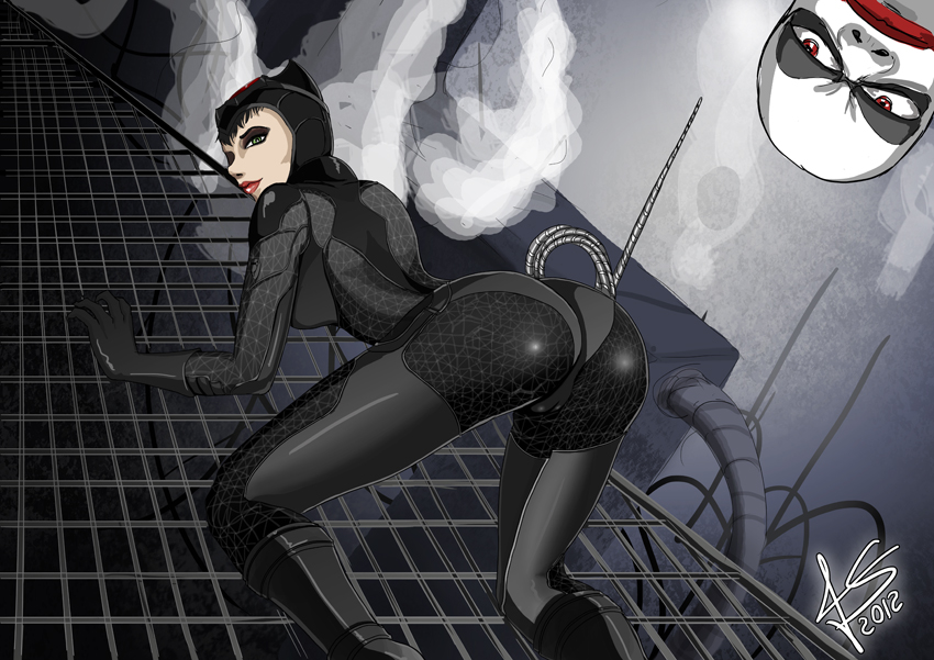 CatWoman by hikashy