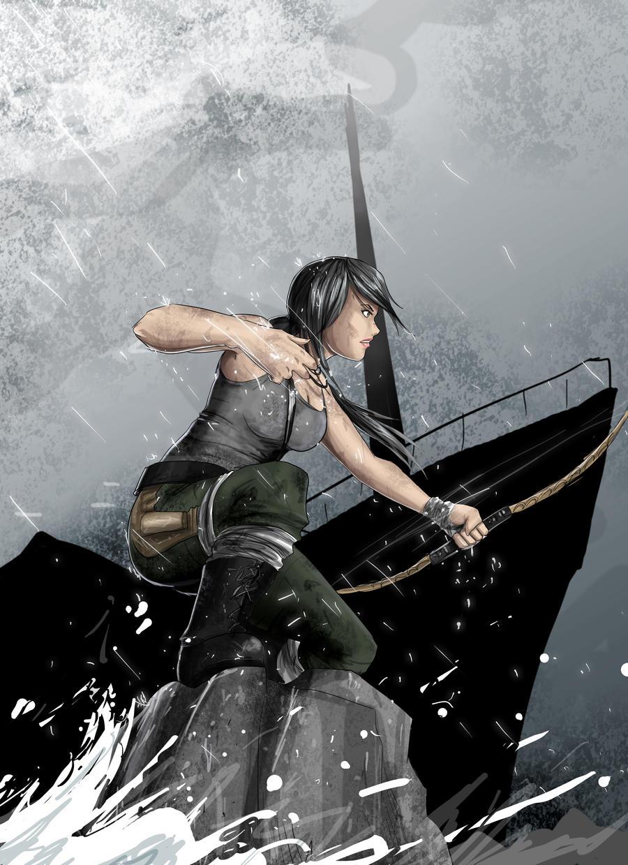 Lara tomb raider contest by hikashy