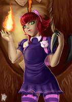 Annie's fire by hikashy