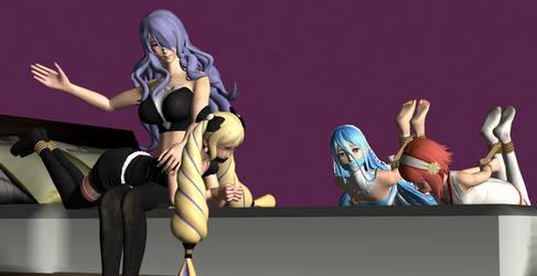 Camilla's Spanks Bound Elise (+Future Plans) by Zapperbullet