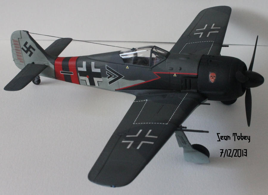 Painting Color For Focke Wulf