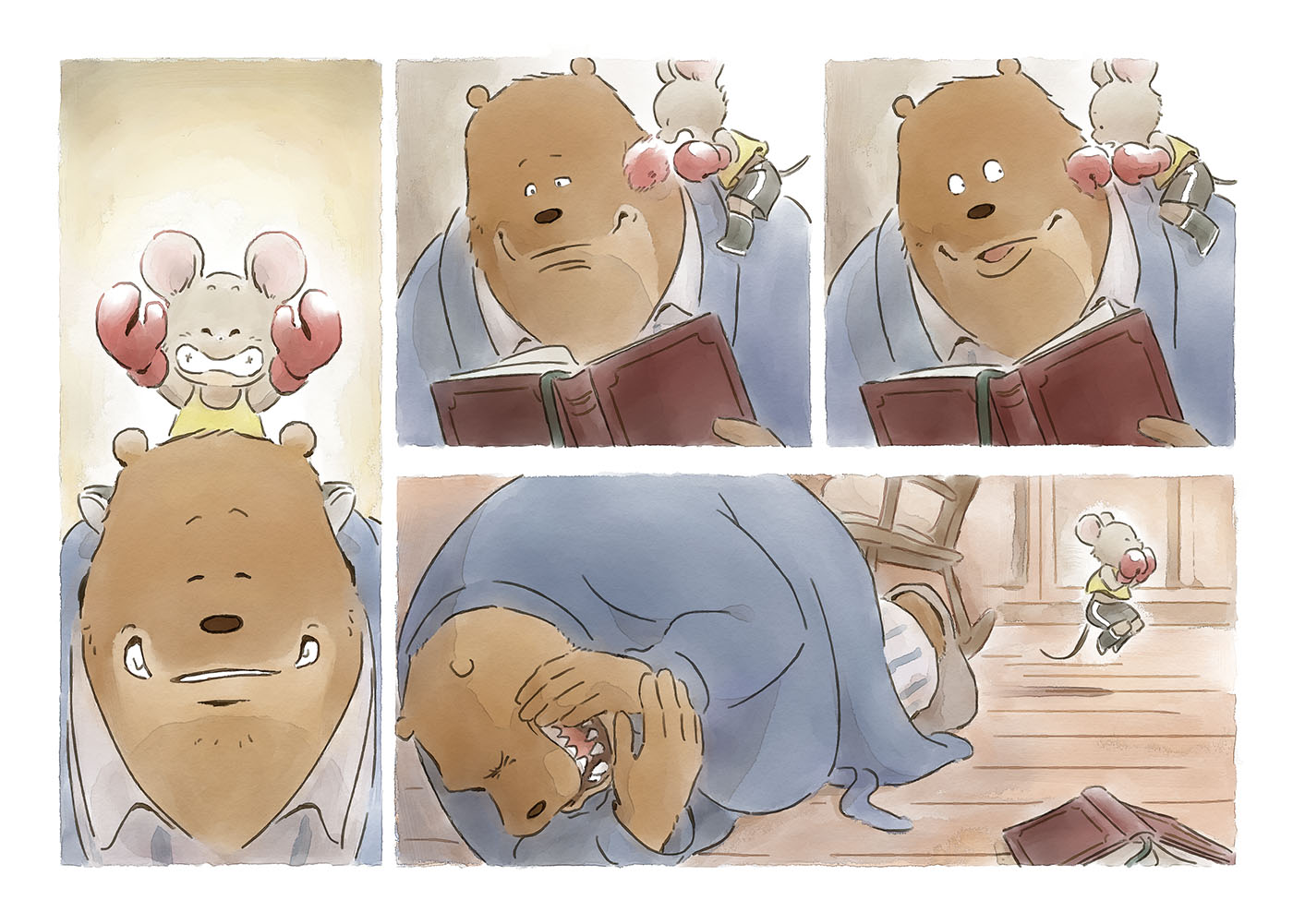 You Ve Got Me Ernest And Celestine By Norijaga On Deviantart