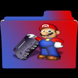 N64 Folder Icon by headroom73