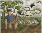 A Meeting with Microraptor