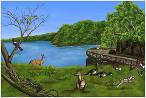 Life on the Sylvan Islands by Sheather888