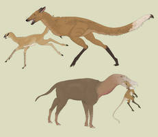 Griffons and Theropodents by Sheather888