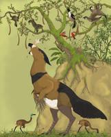 Birds of Serina 100 Million Years Hence by Sheather888