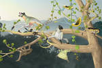 Life of the Ultimocene Rainforest
