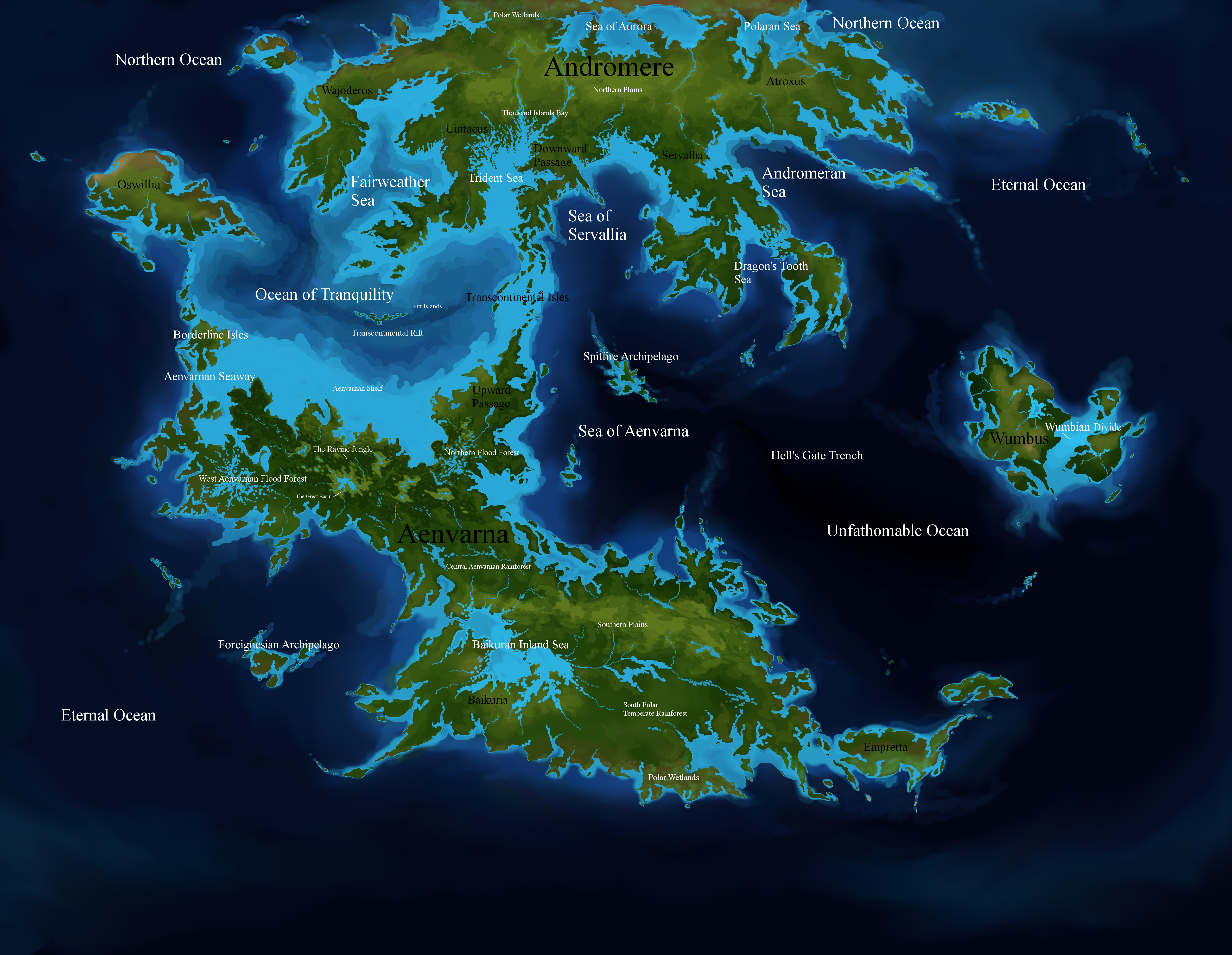 The World of Pluvimundus