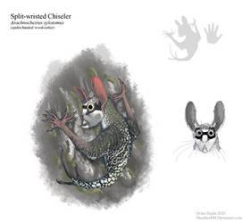 Split-wristed Chiseler