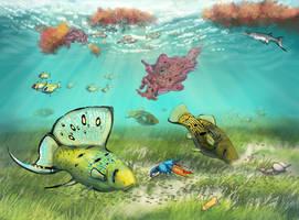 Seas of Serina: 10 Million Years Hence